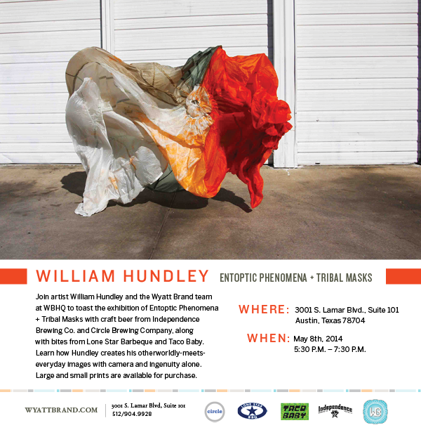William Hundley art exhibition at Wyatt Brand