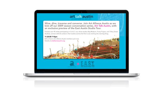 Art Alliance Austin E-Invitation