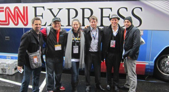 CNN Express group photo