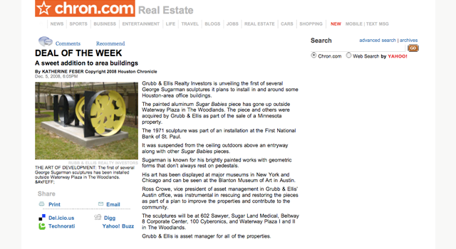 Deal of the Week Houston Chron article