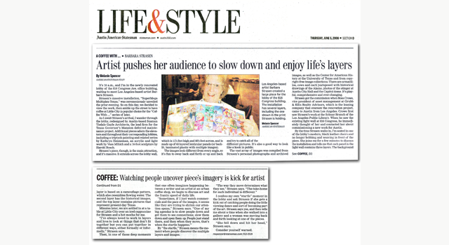 LIfe and Style article