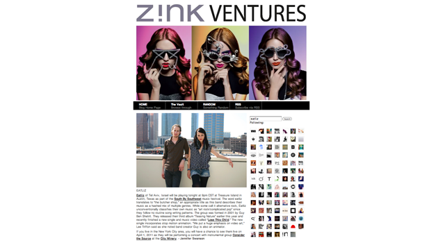 Made in Israel Clipping of Zink
